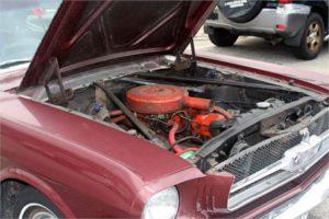 65 Mustang Engine