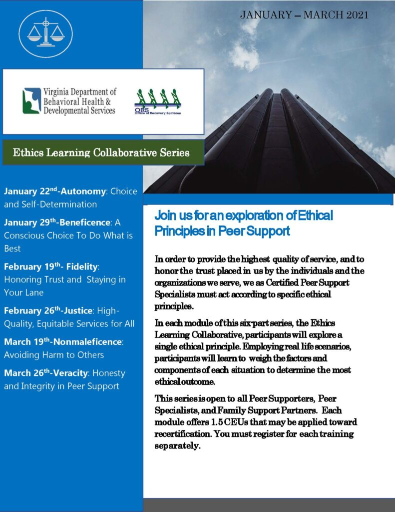 Ethics Learning Collaborative Series