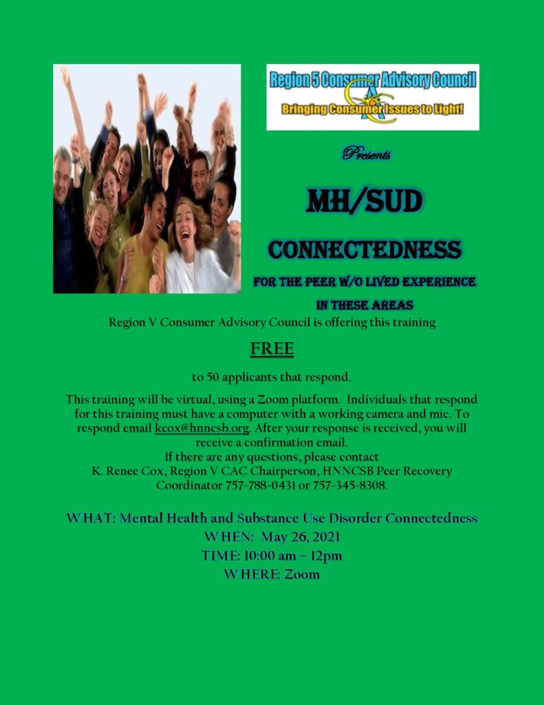 MH SUD Connectedness