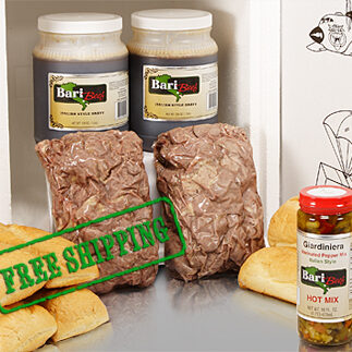 Italian Beef Party Pack Free Shipping