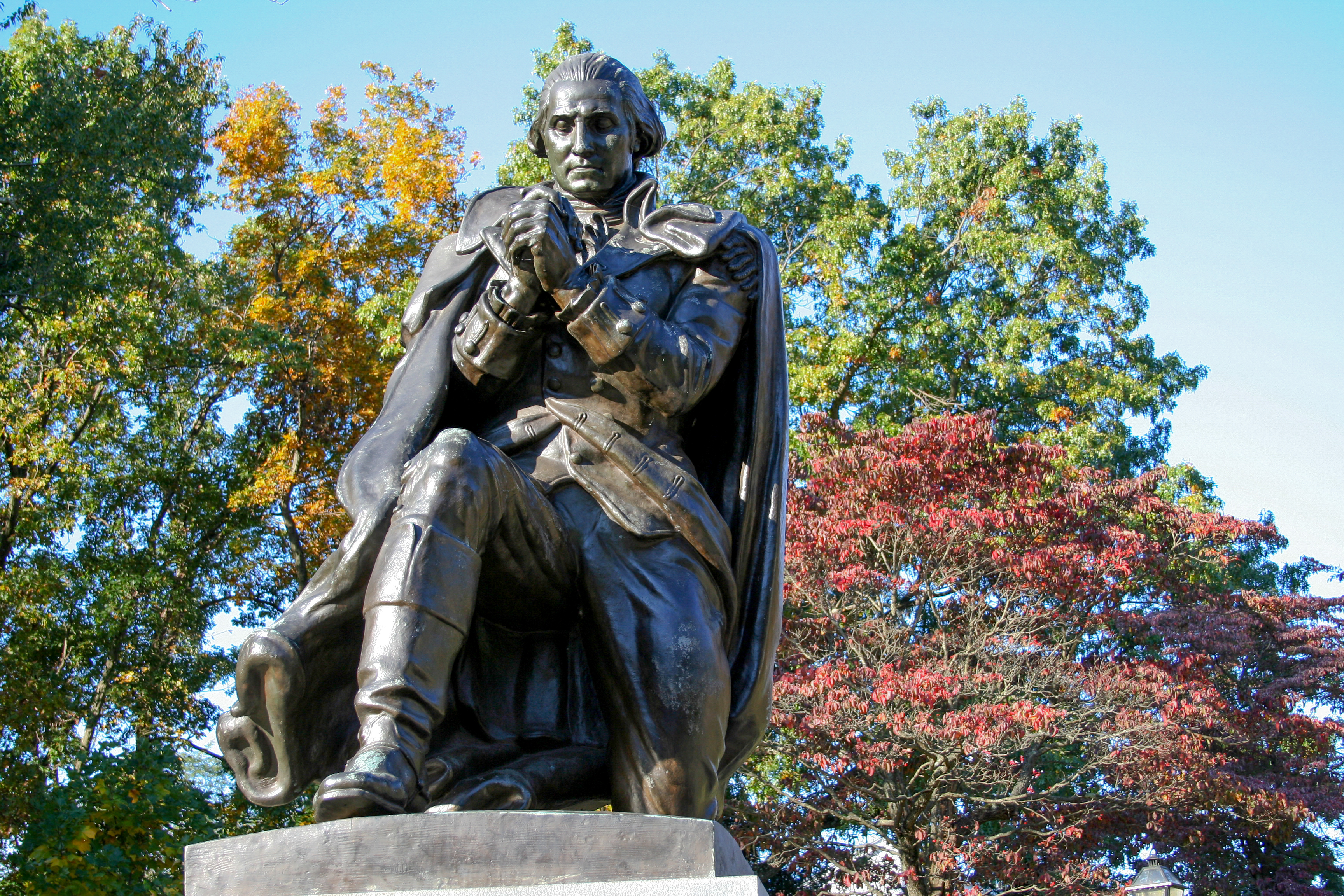 George Washington - Freedoms Foundation - by John Davey