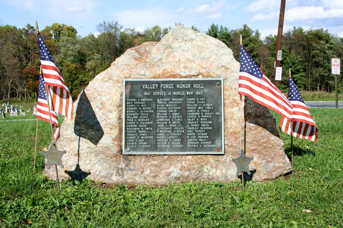 Valley Forge Honor Roll