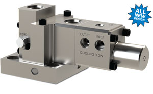 All-New Design for JASC's Water Cooled Three-Way Purge Valve
