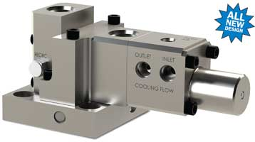JASC's Water-cooled three-way purge valve