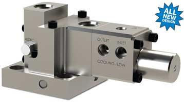 JASC's Water-cooled three-way purge valve