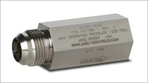 Liquid Fuel Check Valve for Gas Turbine Engines by JASC