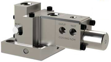 Water-Cooled Three-Way Purge Valve In Design