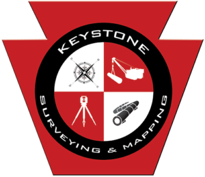 Keystone Surveying & Mapping Logo