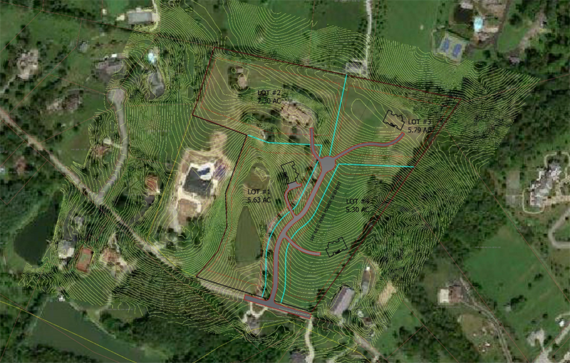 residential subdivision in PA