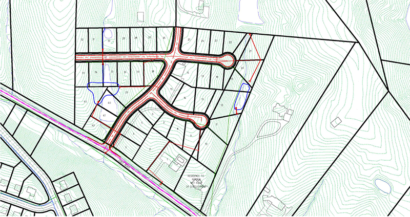 residential subdivision in Kentucky