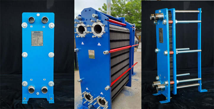 Free Flow Wide Gap Plate Heat Exchanger
