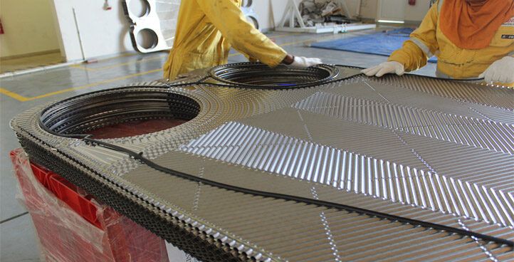 Conventional Gasket Type Plate Heat Exchanger