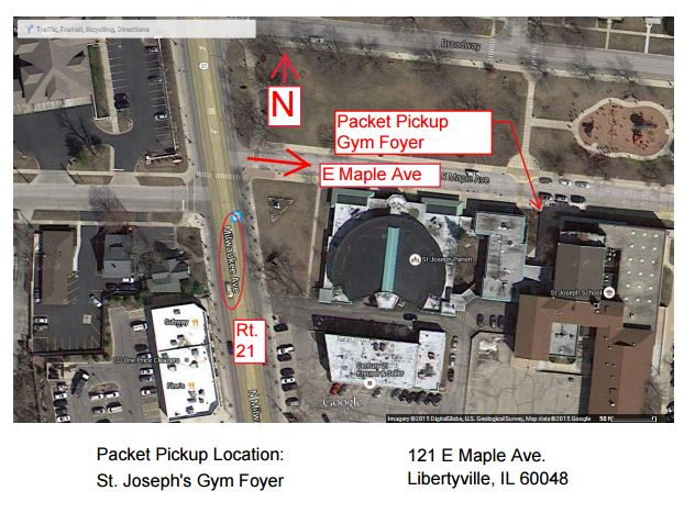 Packet Pickup Map
