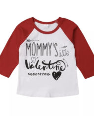 Mommy's little Valentine unisex Shirt 2