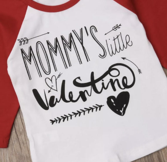 Mommy's little Valentine unisex Shirt