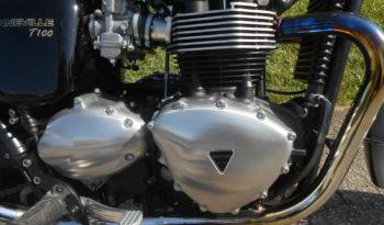 2014 Triumph Bonneville T100 SE full