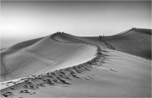 A Line In the Sand, Photography by Saeed Ordoubadi - Size 11in x 17in (February 2017)