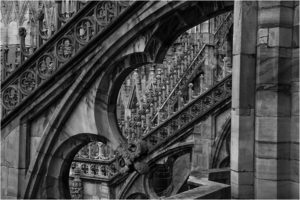 Duomo di Milano 1, Photography by David Gardner - Size 14in x 21in (February 2017)