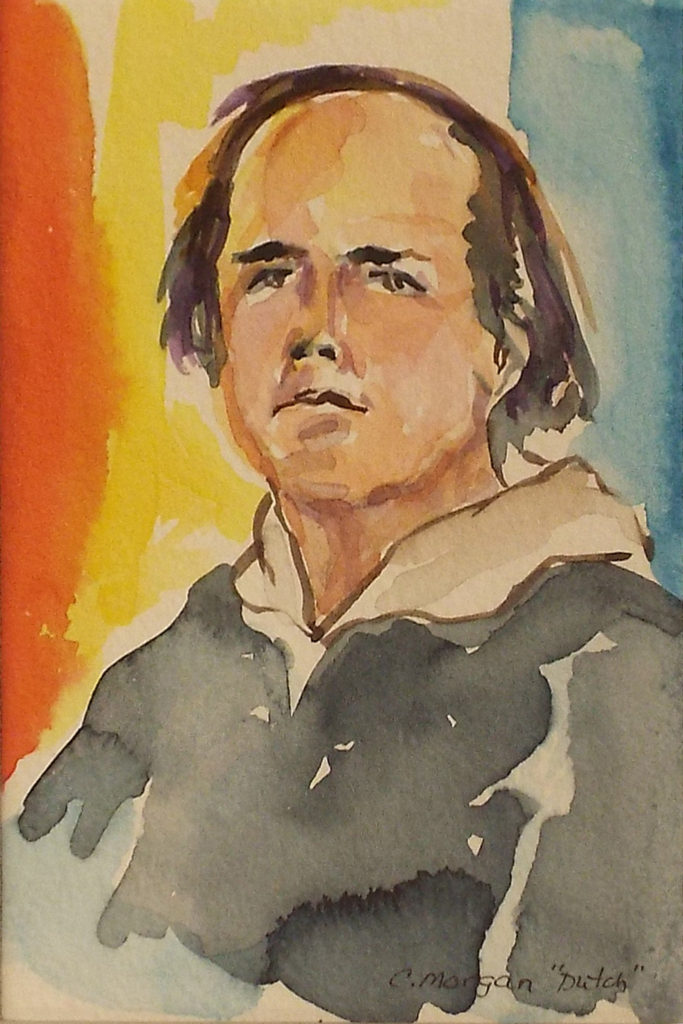 Dutch #1, Watercolor by Carrol Morgan - Size 6in x 4in (October 2016)