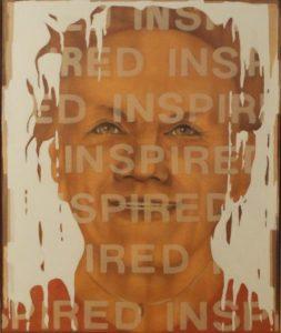 Inspired (Millard), oil and acrylic by Elvira Dimitrij, 19in x 16in (September 2016)