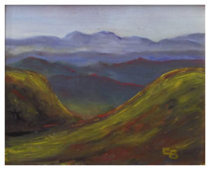 Shenandoah Morning, Oil by Carol Baker - Size 8in x 10in (November 2016)