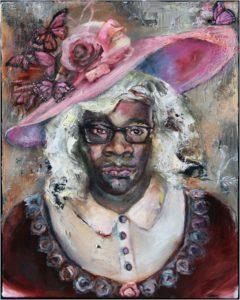 Southern Belle, Oil on Panel by Kim Truesdale - Size 10in x 8in (Dec.2016-Jan.2017)