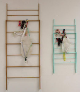 Suspension, 3-D Installation by Emily Dabbs - Size 84in x 64in x 36in (March 2017)