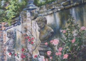 A Gardens Secret, Pastel by Kathleen Willingham (February 2012)