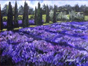 Serenite, Acrylic on Canvas by Lynn Abbott (February 2012)