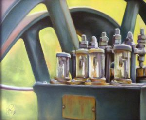Sunlit Value, Pastel by Patricia Hill (February 2012)