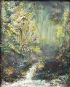 Pura Vida, Oil by Donald Carnohan- Size 15in x 12in x 2in (August 2016)