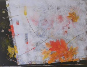 On the Edge, Mixed Media by Bev Bley (June 2012)