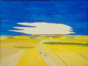 South Morton County North Dakota, Watercolor by Bro Halff (May 2012)