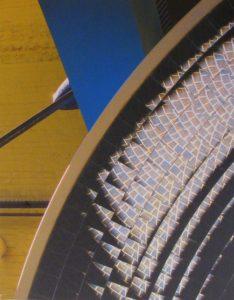 Mirror Disc Gizmo, Metallic Print Photo Ltd Ed by Deborah D. Herndon (July 2012)