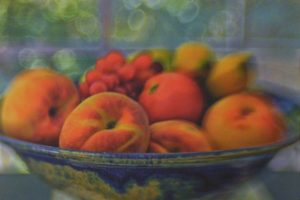 SECOND PLACE: Still Life with Peaches, Photograph by Fritzi Newton (June 2012)