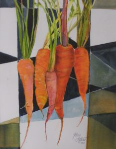 Carrot Top, Watercolor by Gloria G. Affenit (October 2012)