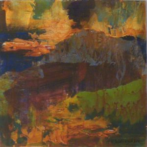 Earth Image No. 3, Mixed Media by Kathleen Willingham (September 2012)