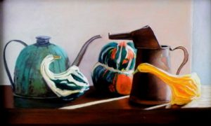 Detente, Pastel by Kathy Waltermire (November 2012)