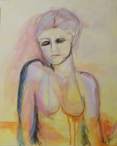 Undone, Mixed Media by Kerry Steele (June 2012)