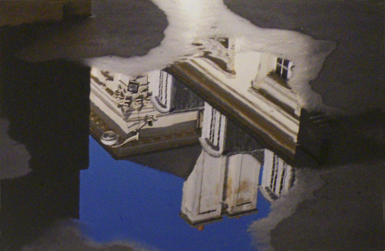 HONORABLE MENTION: Uptown Puddle, Photograph by Lee Cochrane (April 2012)