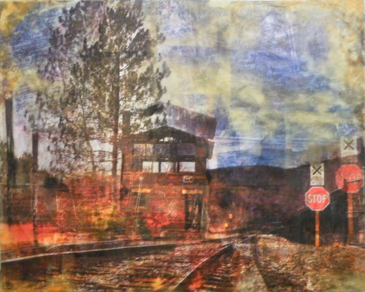 HONORABLE MENTION: Time Lapse Gestalt, Mixed Media by Linda Keefer (May 2012)