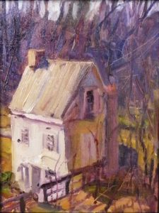 In the Hollow, Oil by Lynn Mehta (June 2012)