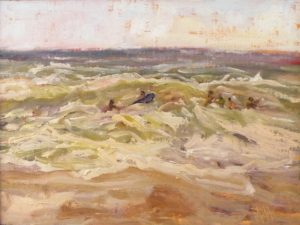 Isaac's Surf, Oil by Lynn Mehta (October 2012)