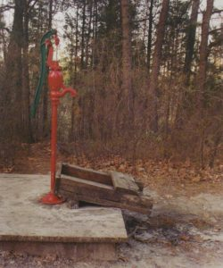 Red Pump, Color Photography by Michael C Habina (April 2012)