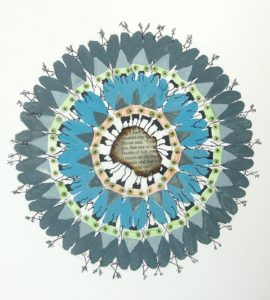 Mandala 1 Abundant Choice, Mixed Media by Millie Abell (September 2012)