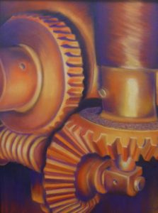 HONORABLE MENTION: Working Together Brilliantly, Pastel by Patricia Hill (July 2012)