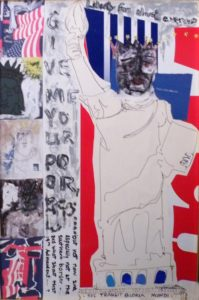 Liberty, Mixed Media by Retta Robbins (March 2012)