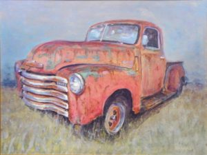 Grand-Pa's Truck, Acrylic by Tom Smagala (October 2012)