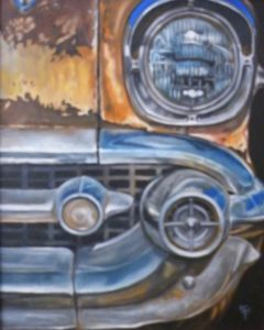 Classic Front End, Oil by Toy Fowler (June 2012)