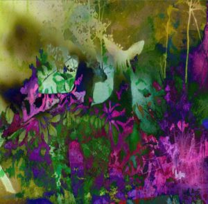 Garden of Eden, Digital Painting by Carolyn R. Beever (December 2012)